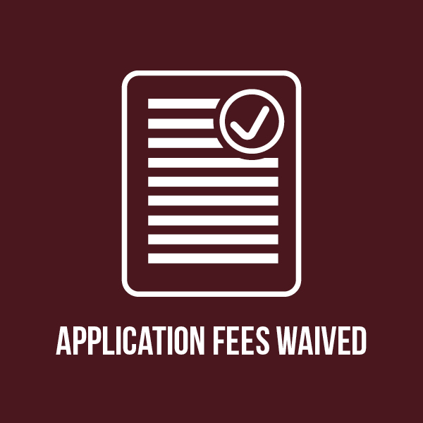 Application Fees Waived